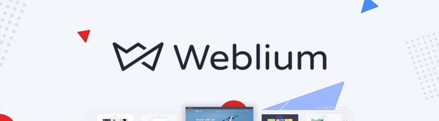 Logo da hospedagem da Weblium