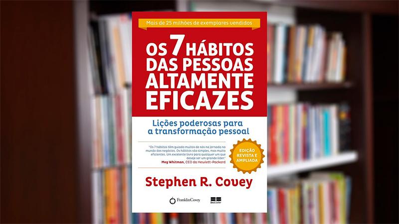 Capa do Livro Os 7 Hábitos das Pessoas Altamente Eficazes