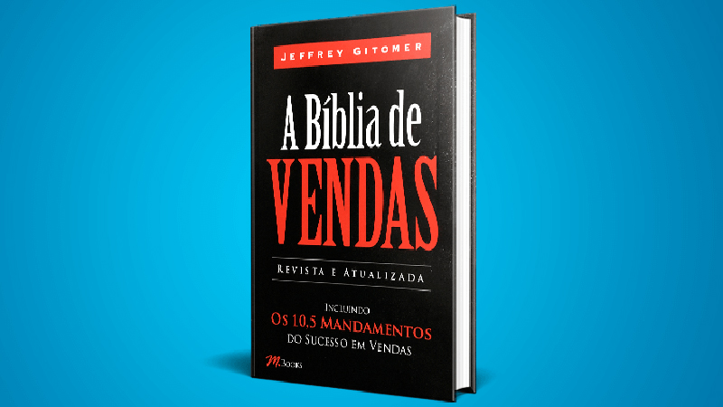Capa do Livro de vendas: A Biblia de Vendas