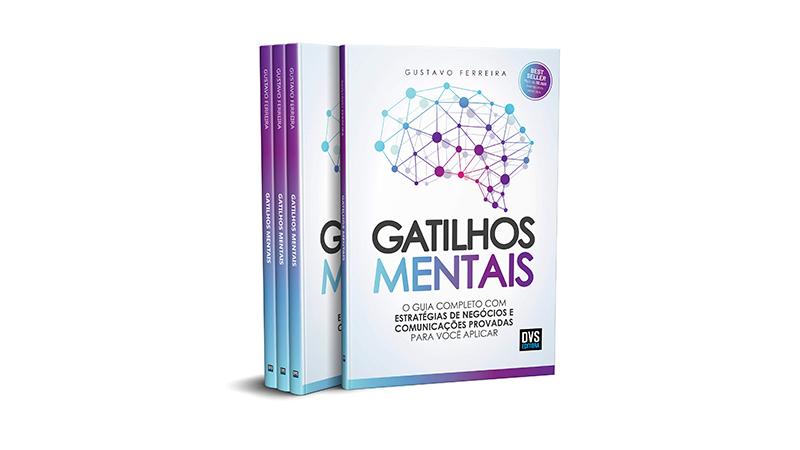 Capa do Livro Gatilhos Mentais: O Guia Completo