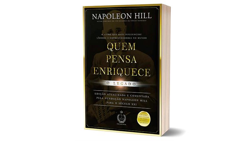Capa do Livro Quem Pensa Enriquece: O Legado