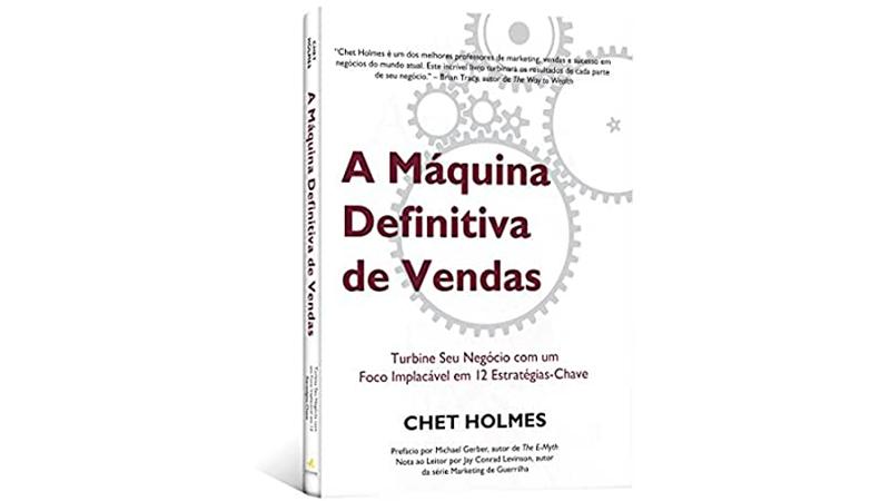 Capa do Livro de Vendas: A Máquina Definitiva de Vendas