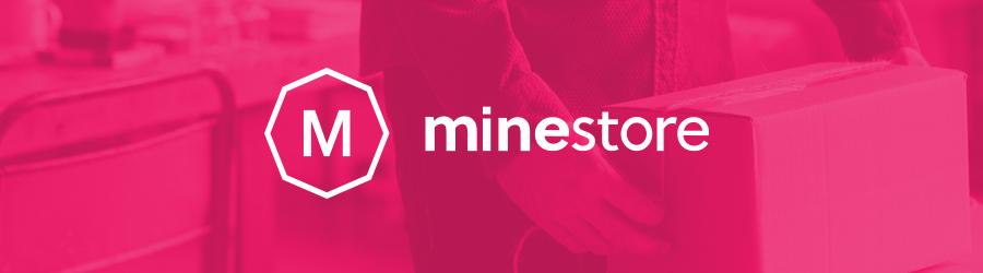 Banner da plataforma de ecommerce Minestore