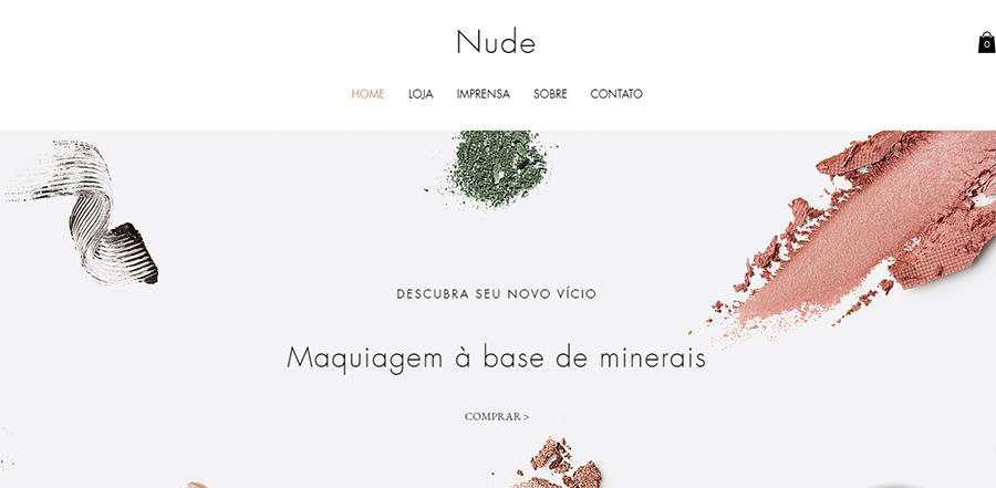Modelos de Site - Nude
