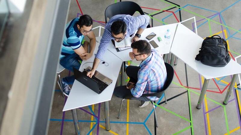 Networker trabajando