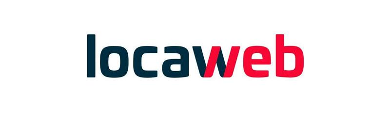Logo do serviço de hospedagem Locaweb
