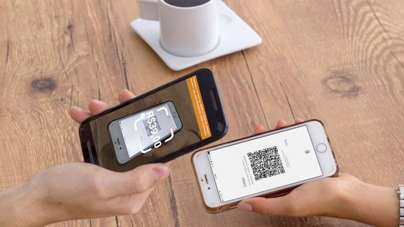 Realizando uma compra através do QR Code gerado para o Pix