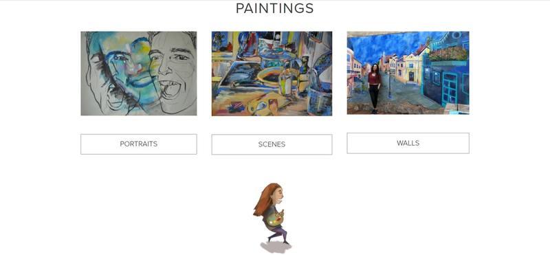Clara Cabrera Studio página web