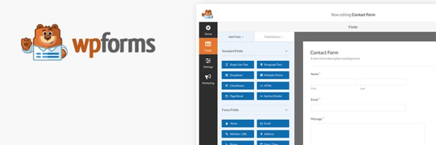 Melhores plugins WordPress WPForms