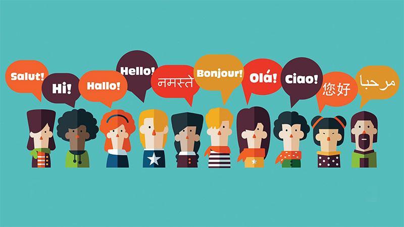 Recursos do Chat Online Suporte Multilíngue