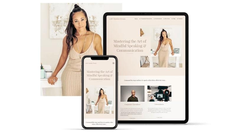 Crear sitio web comercial en Webnode