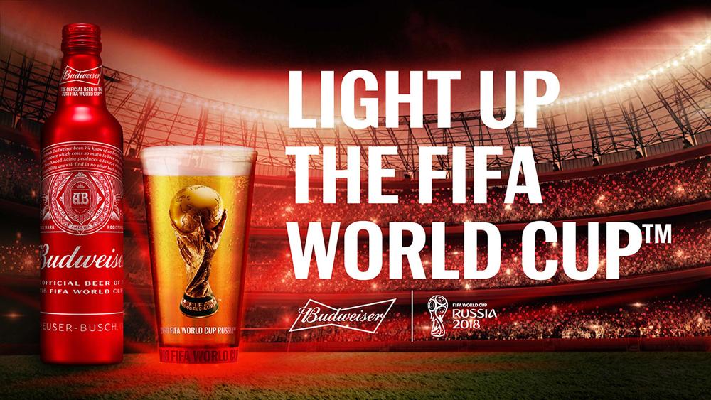 Budweiser World Cup 2018 Bottle