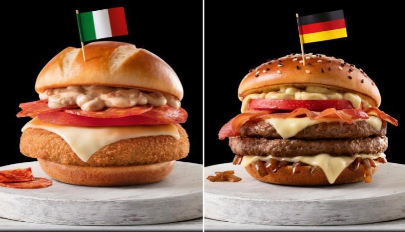 McDonalds Brasil World Cup Menu