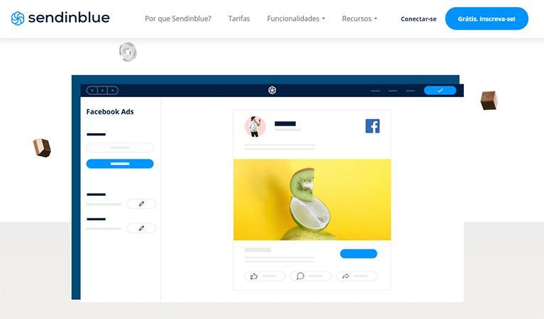 SendinBlue oferece Anuncios no Facebook