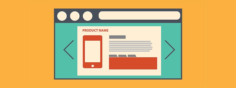 Tenha boas descrições de produto para melhorar as vendas online