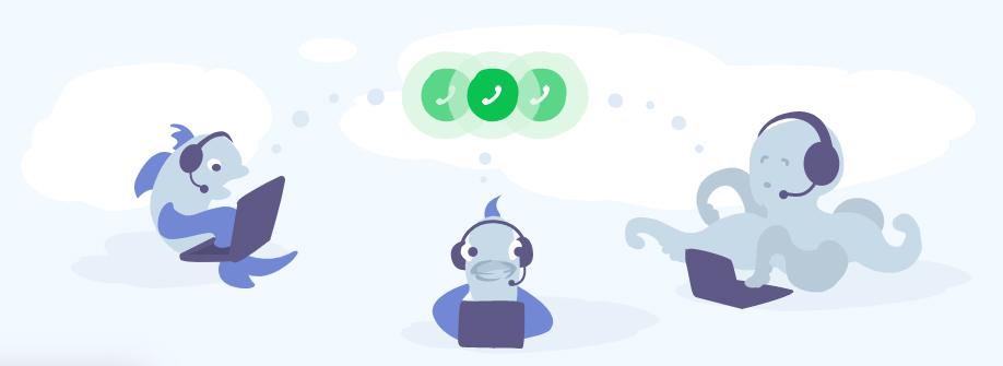 Telefonia VoIP do JivoChat