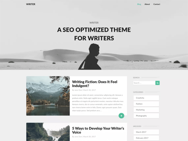 Template WordPress Writers