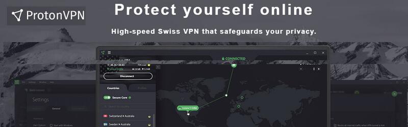 ProtonVPN - VPN Grátis