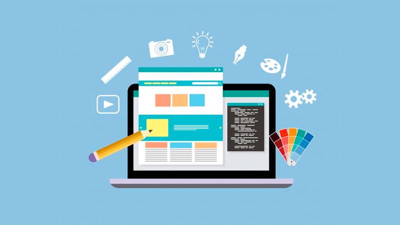 Ferramentas para criar e editar sites