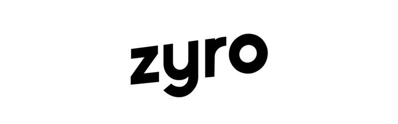 Logo do criador de sites Zyro