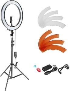 Neewer Kit Standard de iluminación de luces LED SMD regulables de 18 pulgadas