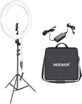 Neewer - Kit aro de luz LED de 53cm