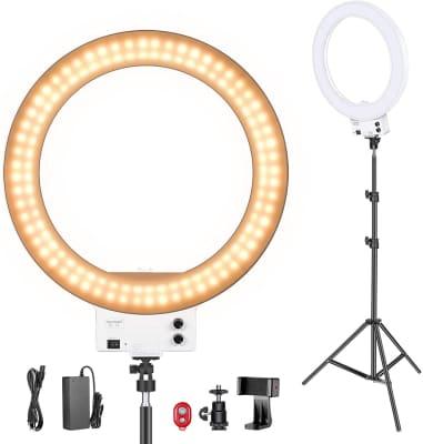 Neewer - Kit Standard de iluminación de luces LED SMD regulables de 18 pulgadas