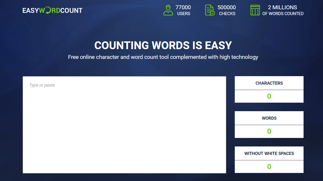Easy Word Count