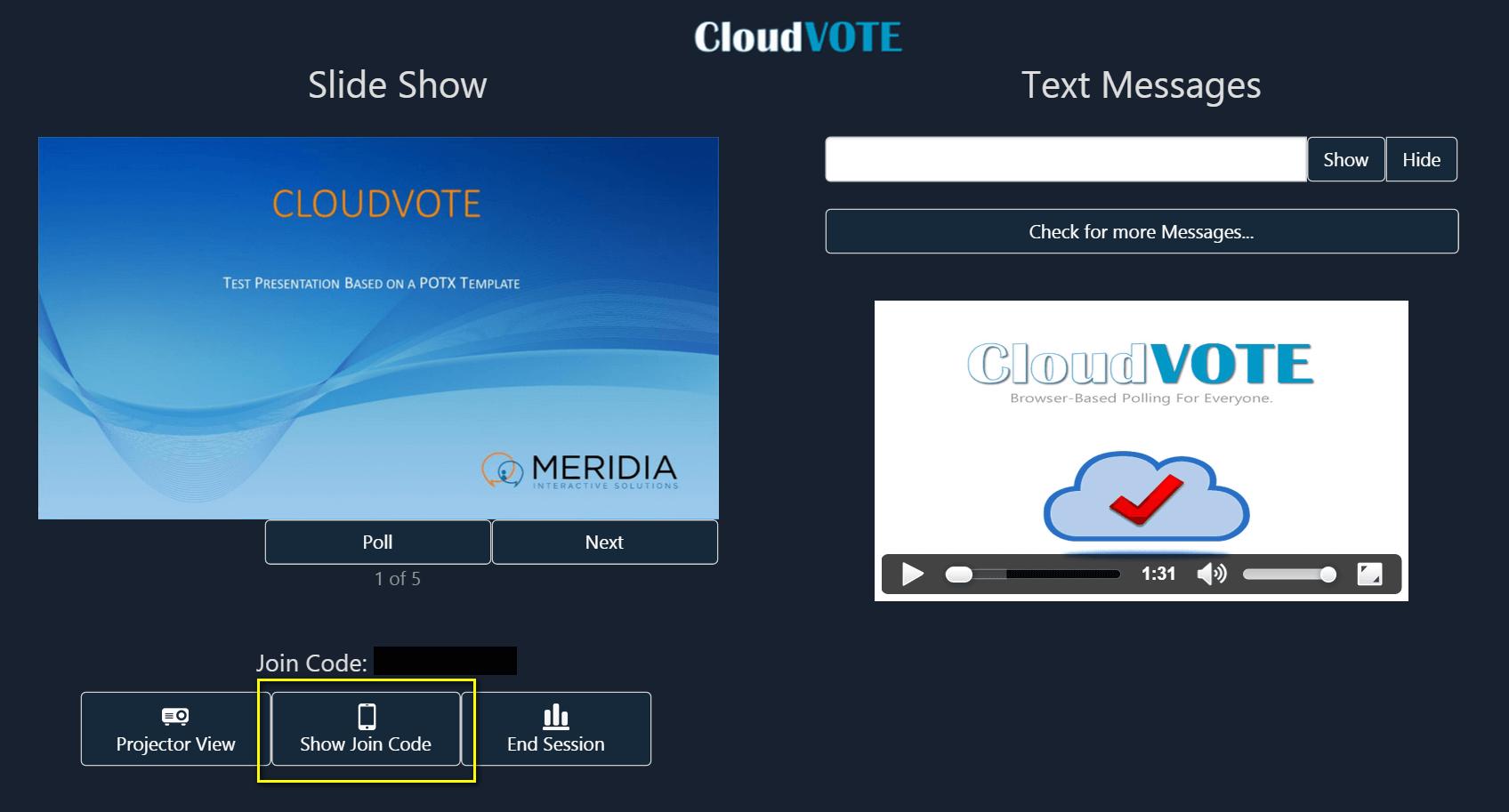 Cloudvote