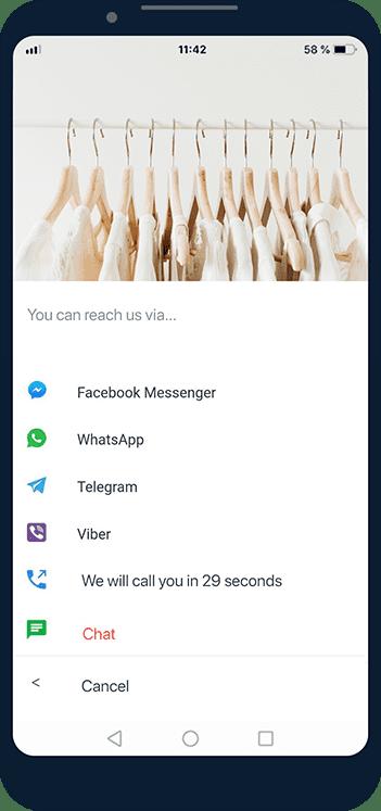 JivoChat omnichannel messenger