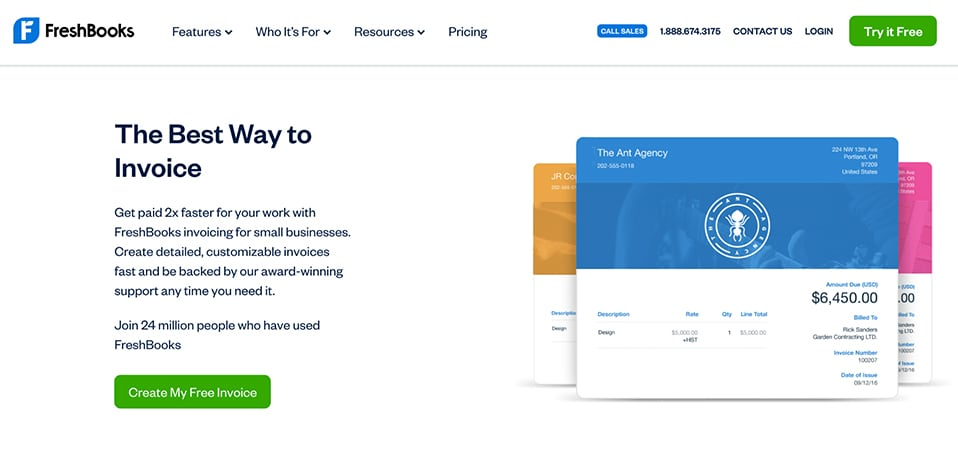 Freshbooks best way to invoice
