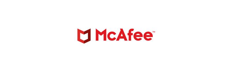 Logo McAfee antivírus