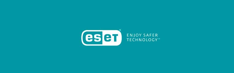 Logo com imagem do ESET Antivírus