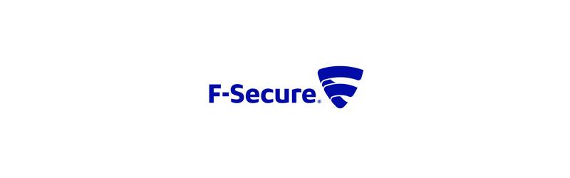 Imagem com a logo da F-Secure Antivírus