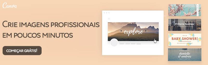 Crie imagens profissionais gratuitamente com o Canva
