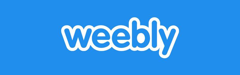 Logo da plataforma de ecommerce Weebly