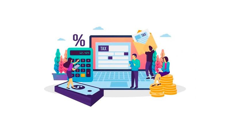 empreendedores calculando e emitindo suas notas fiscais