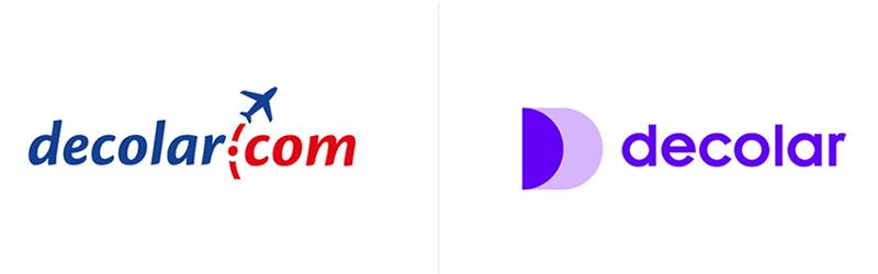 Logo da Decolar.com