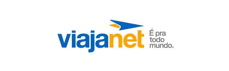 Logo da ViajaNet e frase: é para todo mundo