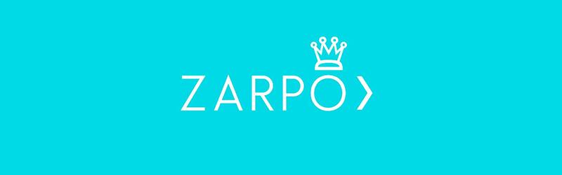 Logo da Zarpo em fundo plano