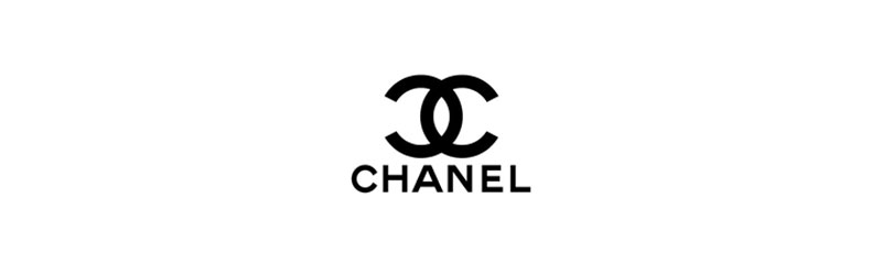 Logo preta da Chanel