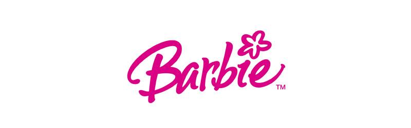 Psicologia das cores no logo rosa da Barbie