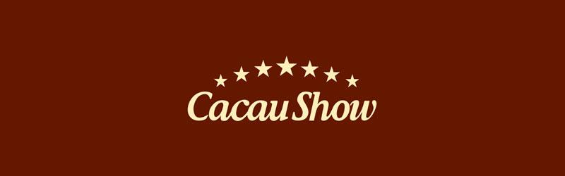 Logo marrom Cacau Show