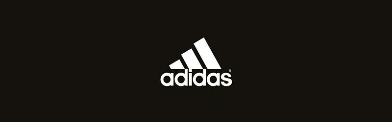 Logo branca da Adidas