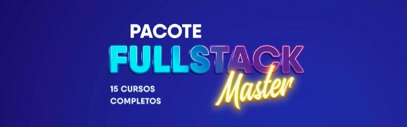 curso de programação pacote fullstackmaster
