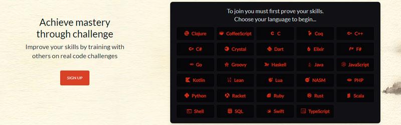 curso de programação Codewars