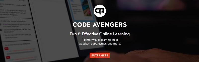 curso de programação code avengers
