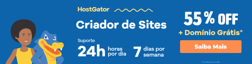 Crie um site responsivo e profissional com o Hostgator
