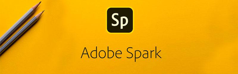 Adobe Spark como hacer un banner