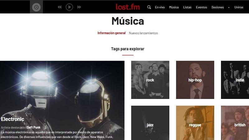 Last.FM descargar música gratis